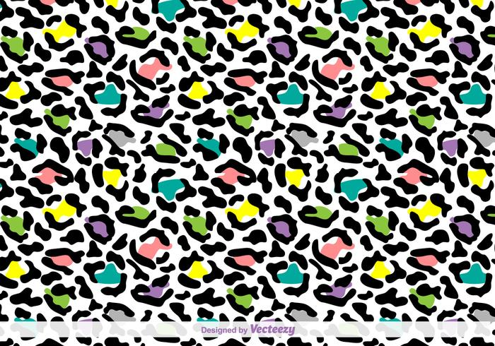 Vector Leopard Skin Background