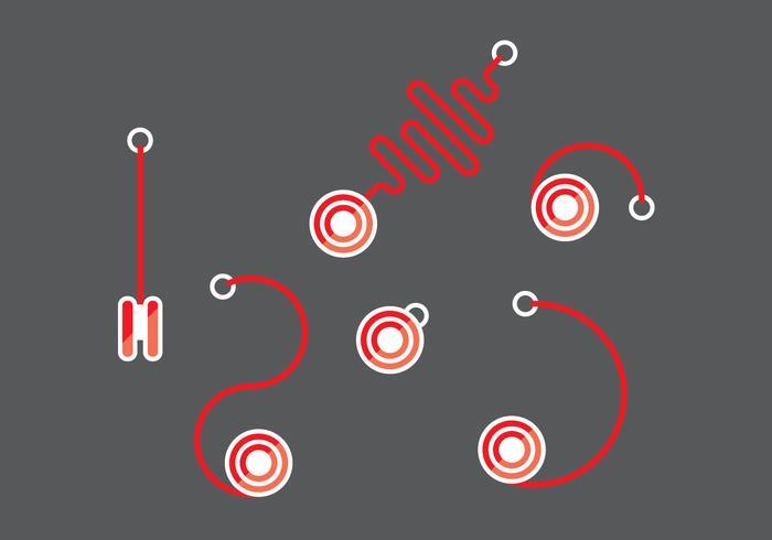 Yoyo Vector Set