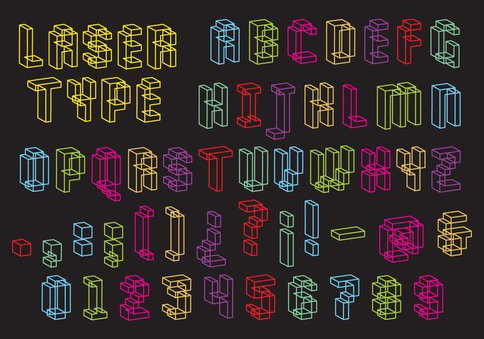 Laser Type Vector