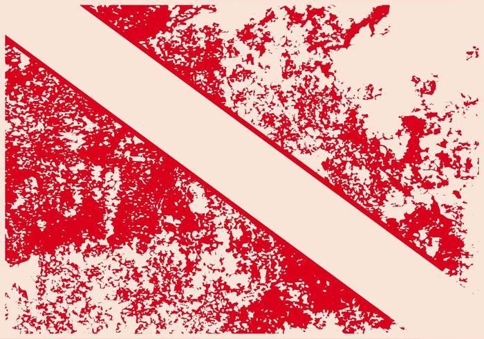 Vector Grunge Dive Flag