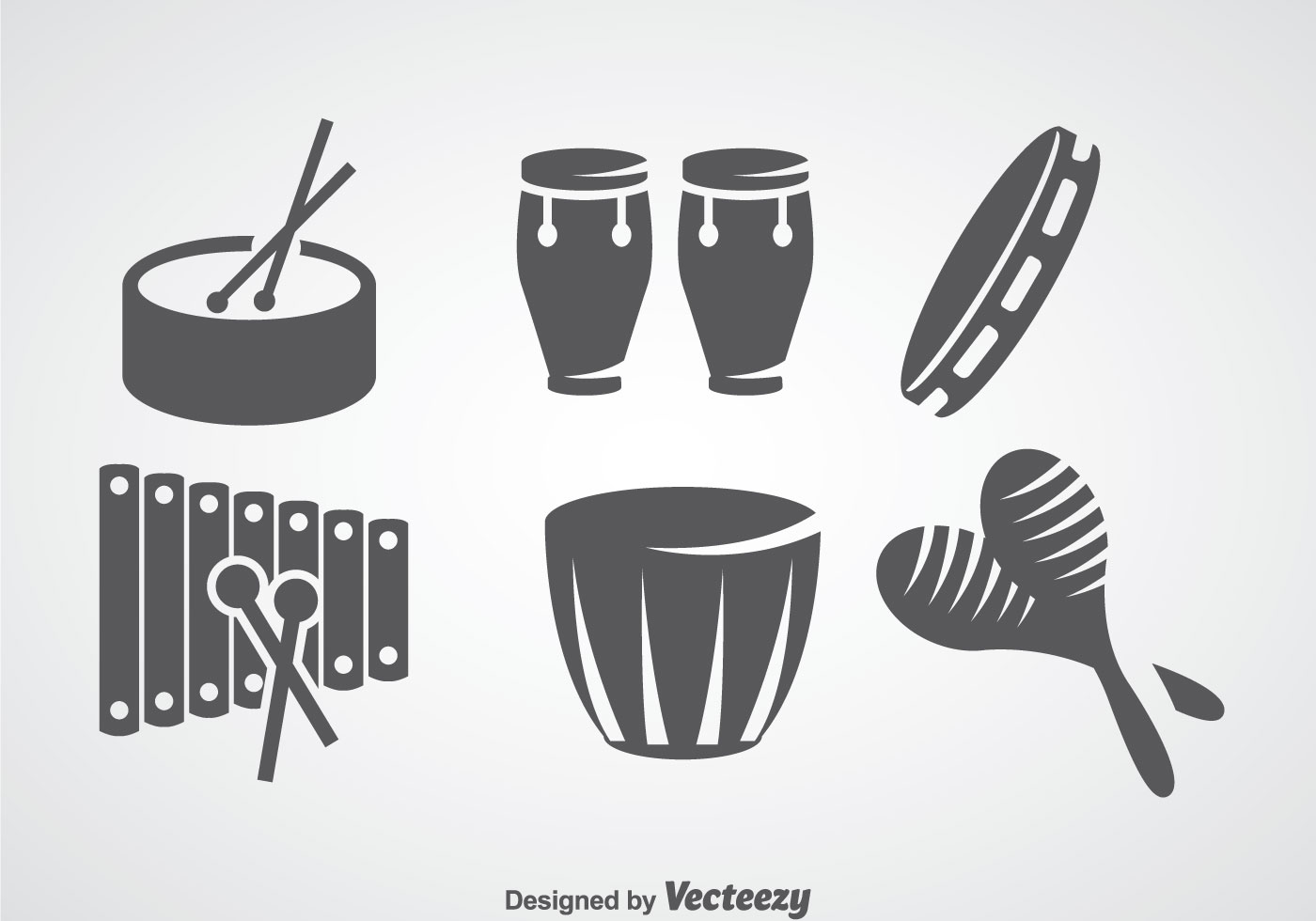 salsa music instrument vector sets download free vector art stock graphics images. Black Bedroom Furniture Sets. Home Design Ideas