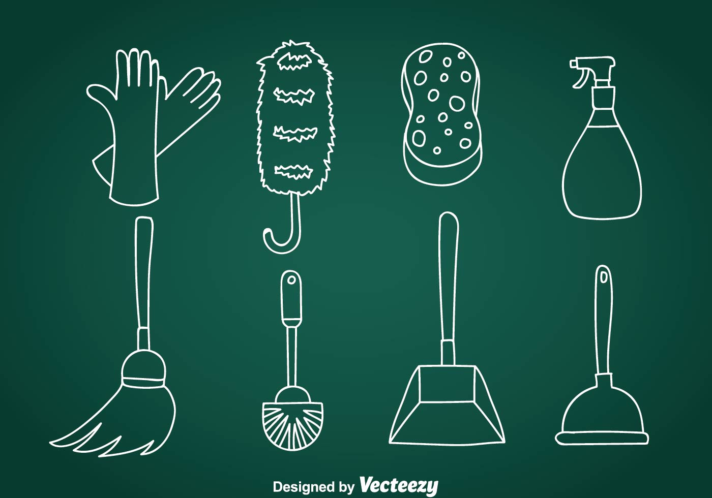 Home Cleaning Doodle Vector Icons Download Free Art Stock Graphics Amp Images