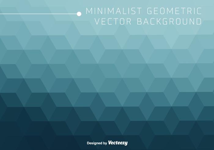 Modèle minéral minimal de Rhombus bleu