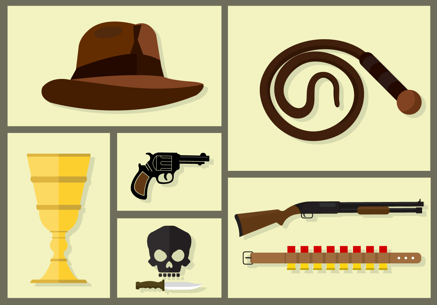 Indiana Jones Vectors - Download Free Vector Art, Stock Graphics & Images