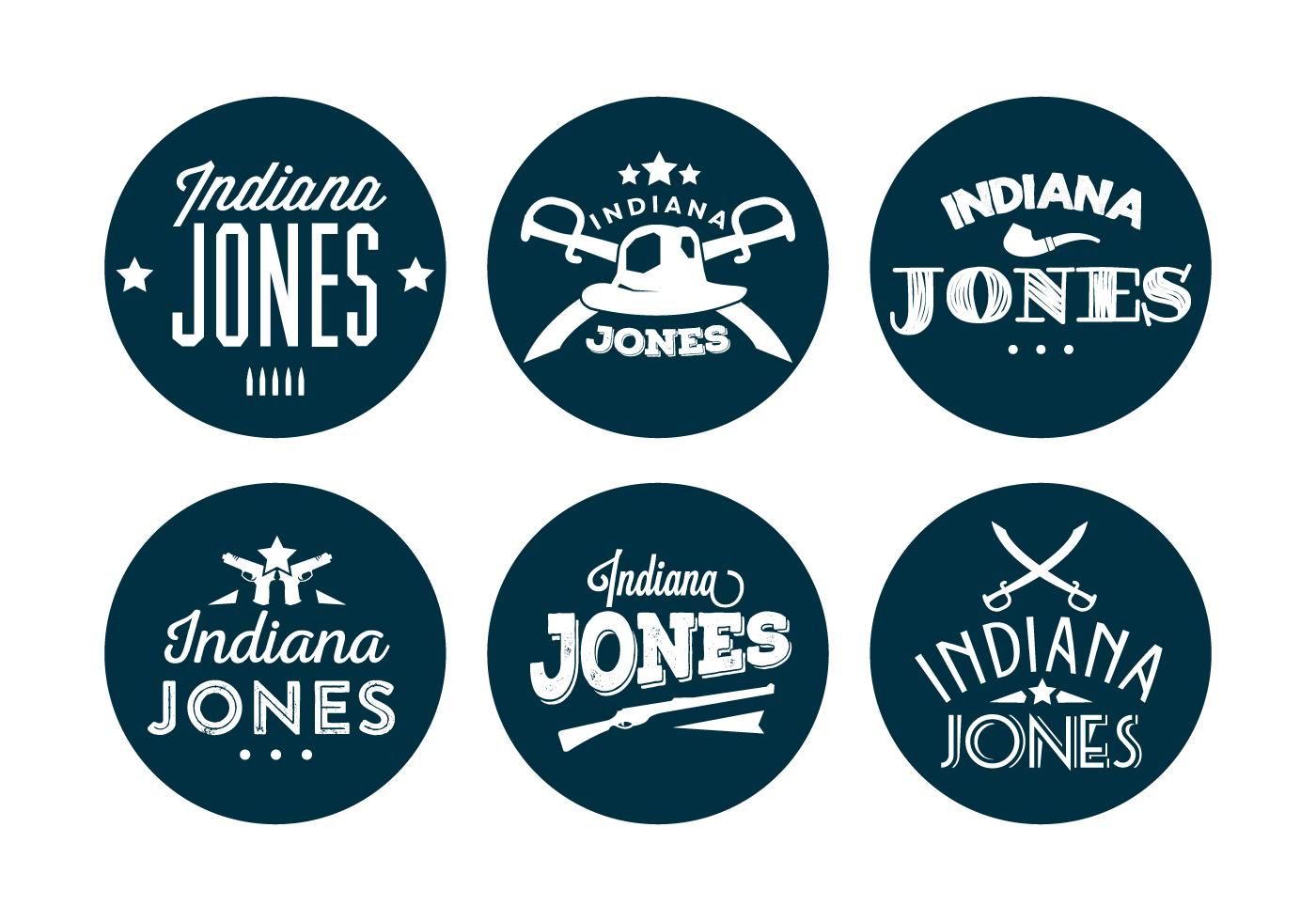 Typographic indiana jones vector backround download free for Indiana jones clipart