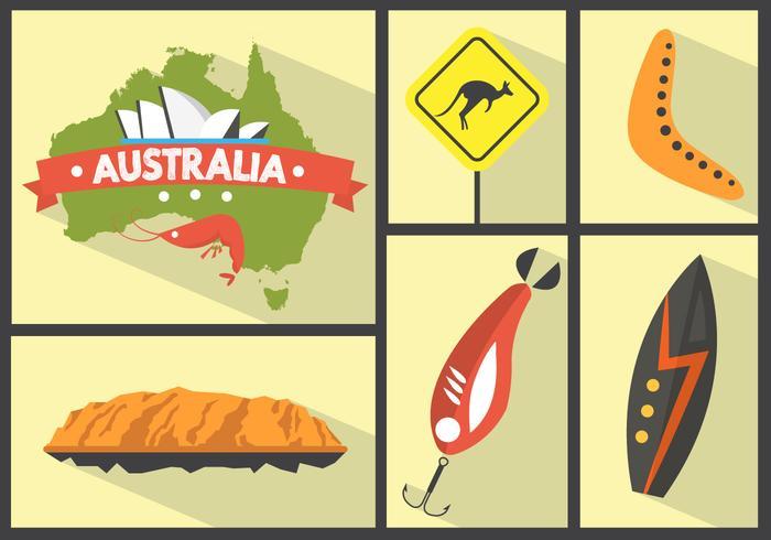 Australian Vector Icons