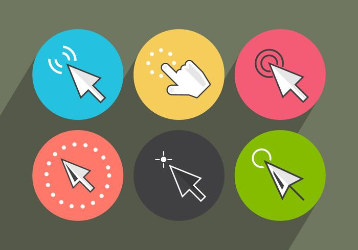 Mouse Click Vector Icons