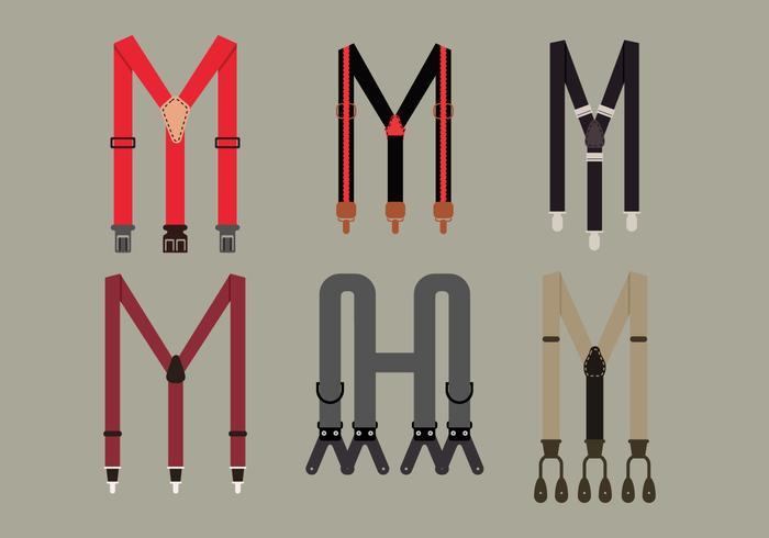 Suspenders Vector Pack