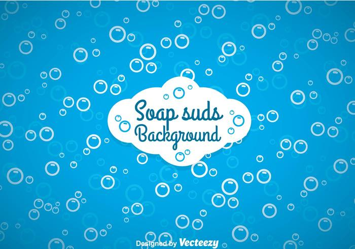Soap Suds Background