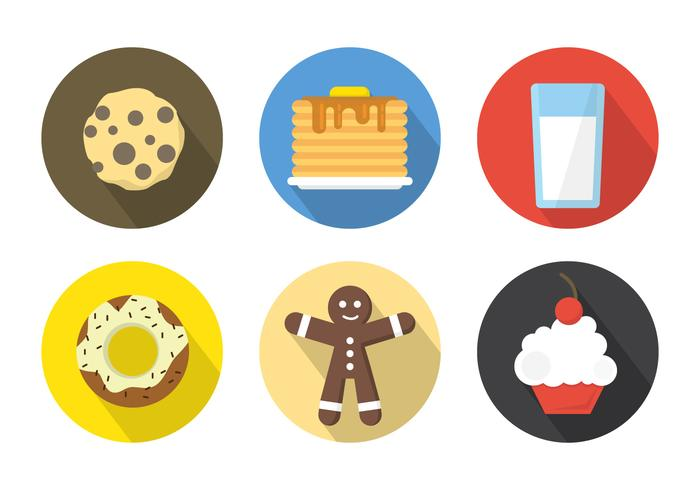 Breakfast Icons Background