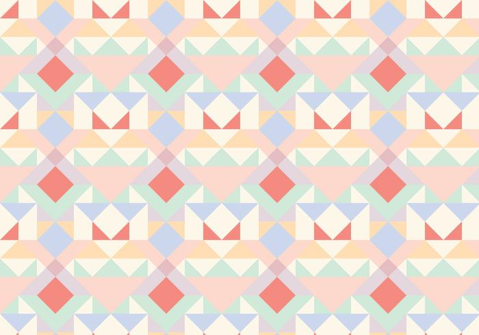 Pastel Geometric Abstract Pattern