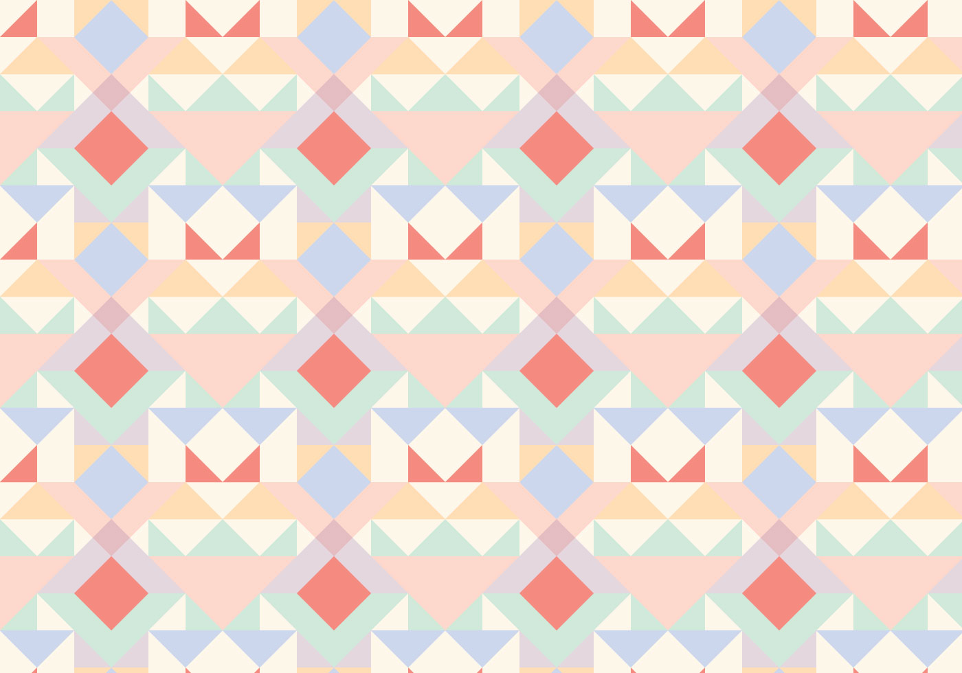 Pastel Geometric Abstract Pattern - Download Free Vector ...
