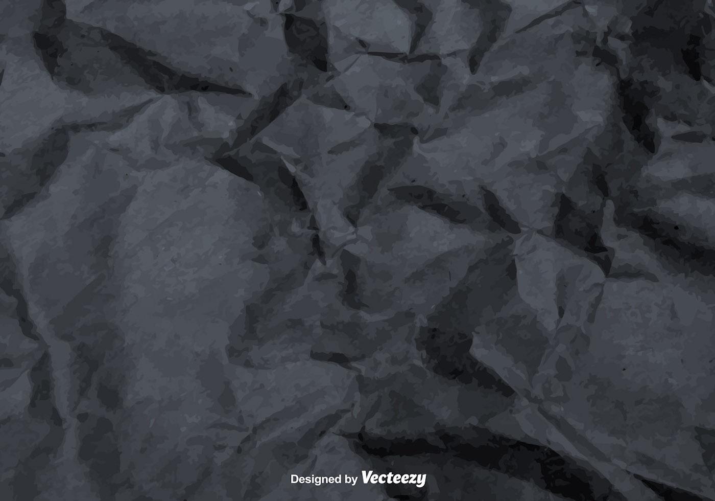 Vector Gray Crumpled Paper Texture Download Free Vectors