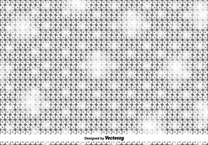 Vector Silver Shiny Sequins Pattern