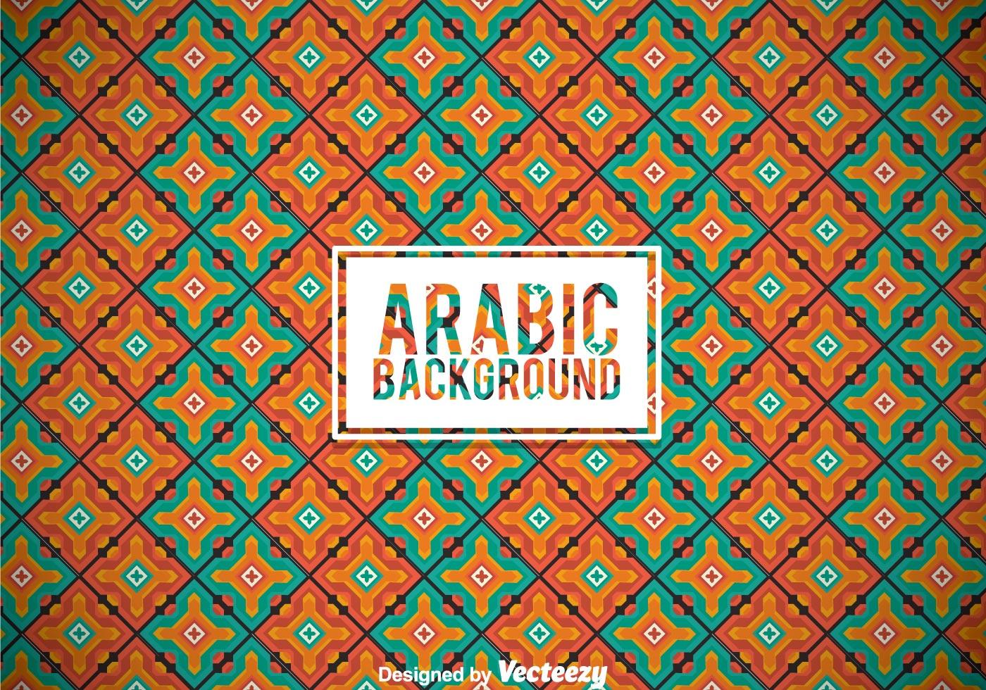 Arabic Ornament Background Download Free Vector Art