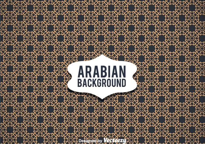 Arabian Ornament Background