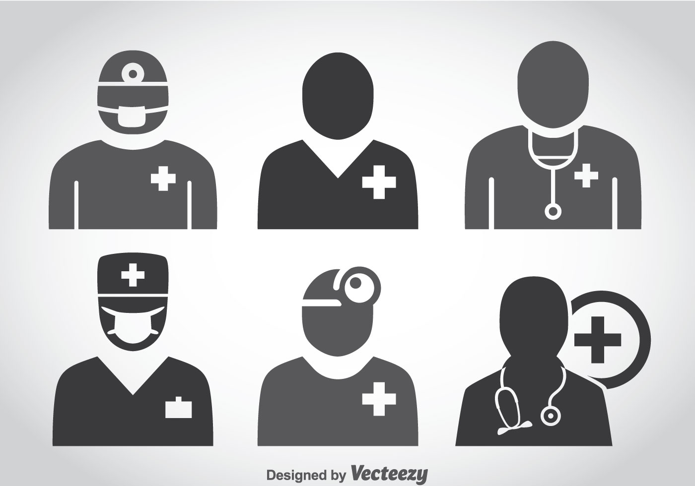 doctor icons vector download free vector art stock