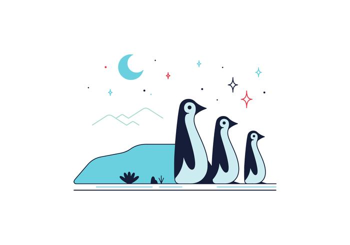 Free Penguins Vector