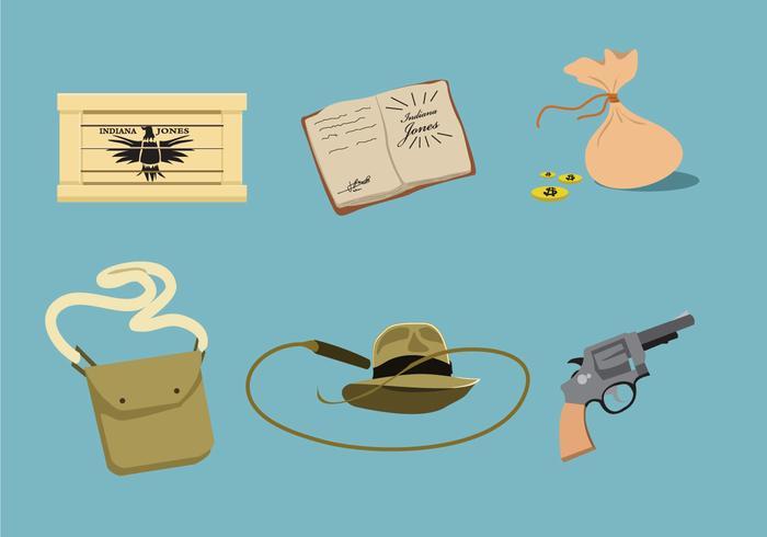 Indiana Jones Äventyr Vector