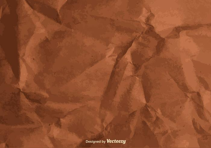 Vector Texture of a Crumpled Paper