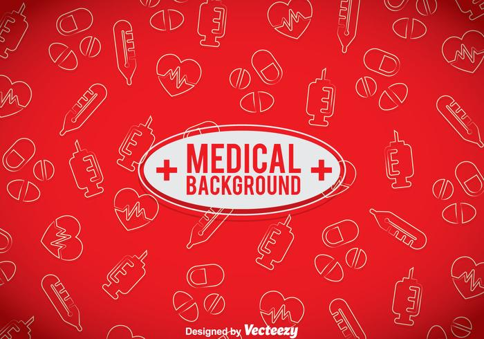 red medical background - photo #1