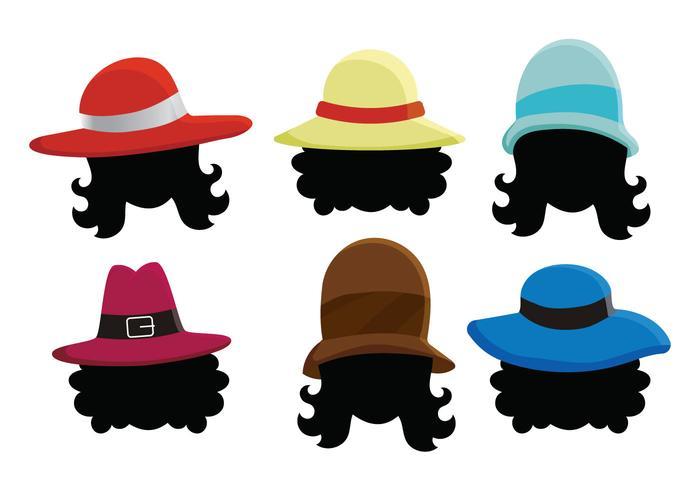 Ladies Hat Vector