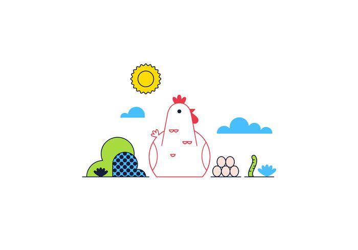 Free Chicken Vector