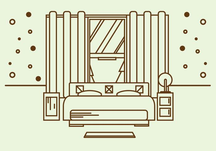 Free Mattress Illustration Vector