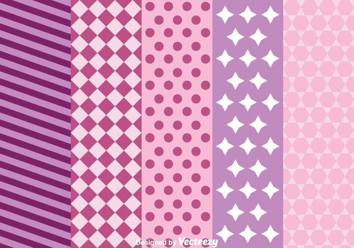 Purple Background Set