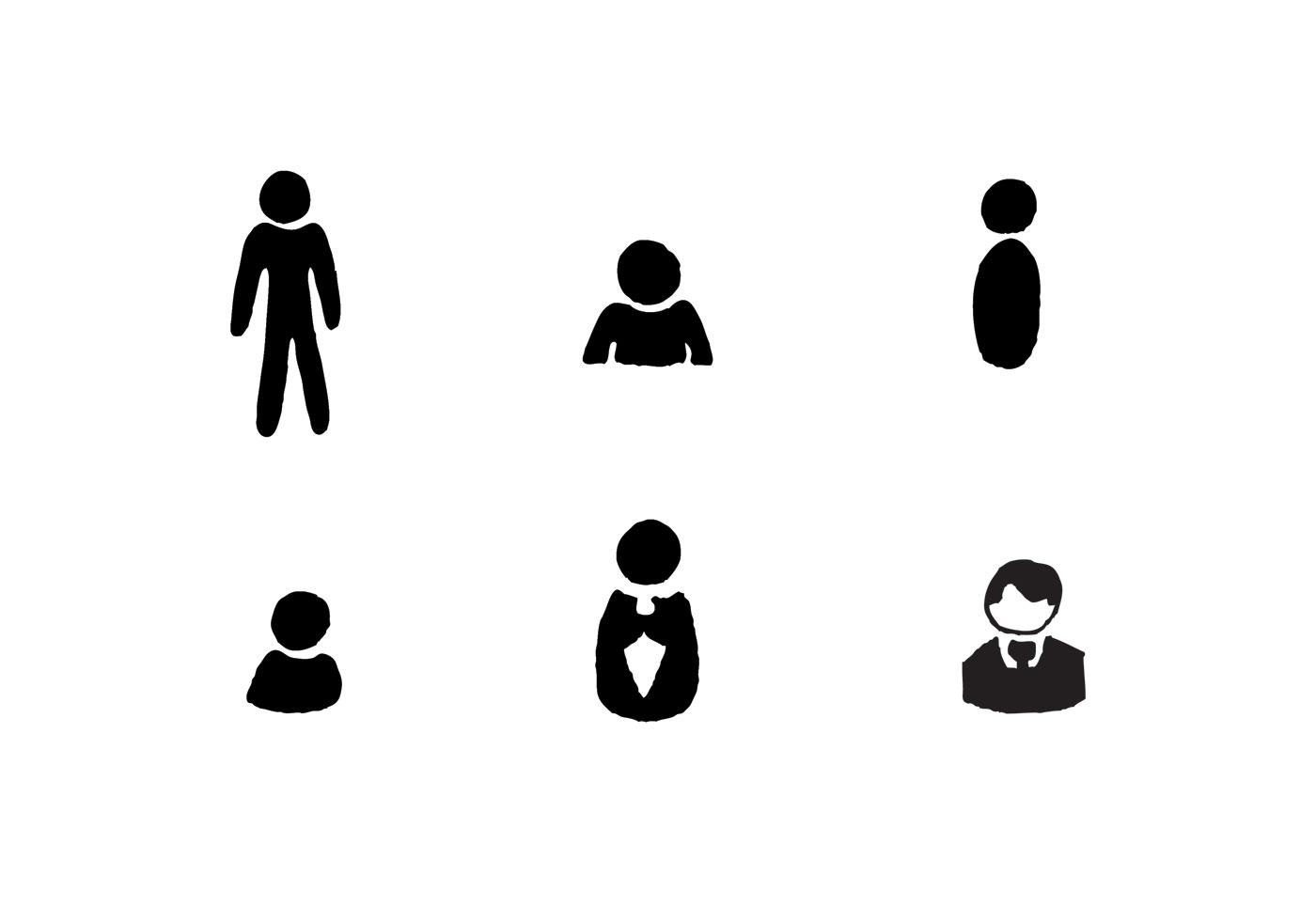 person icon free vector art