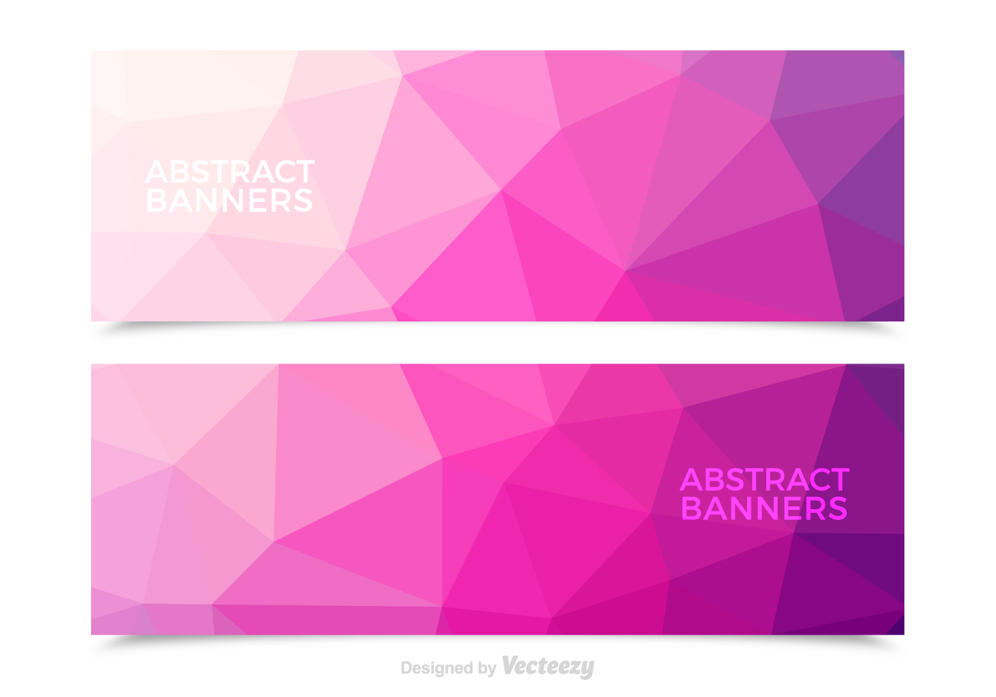 Triangular File Free Pink Abstract Vec...