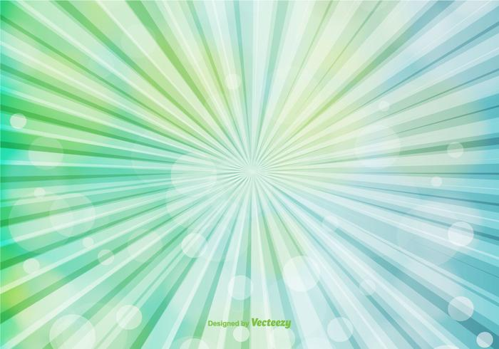 Abstract Sunburst Background vector