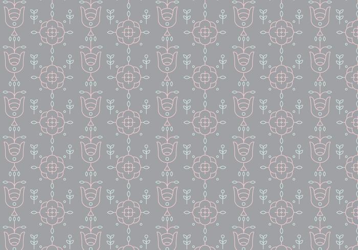 Decorative Outline Pattern