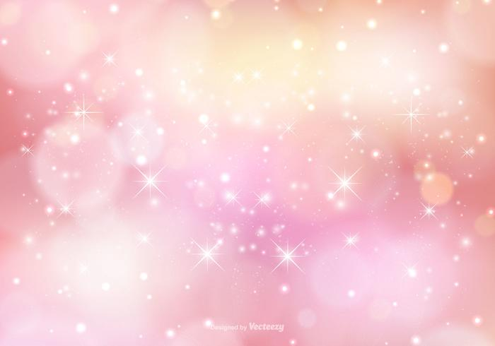 Pink Sparkle Background Illustration