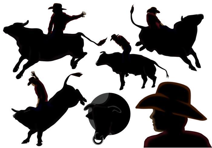 Ride The Bull Vectors
