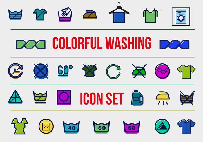 Free Washing Vector Icons