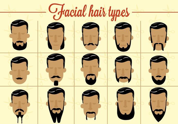 Free Facial Hair Vector