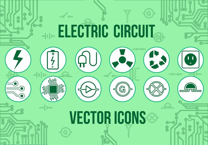 Electric Vector Icons