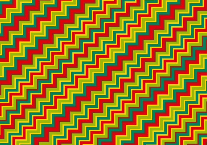 Colorful Zig Zag Pattern Background