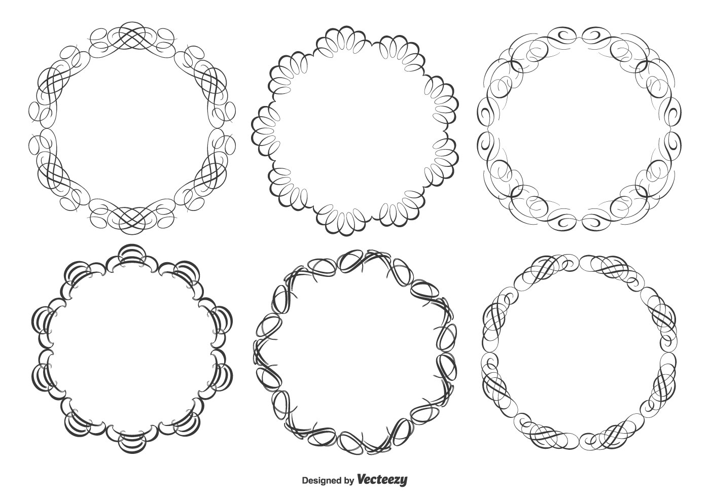 Decorative Frame Set Download Free Vector Art Stock
