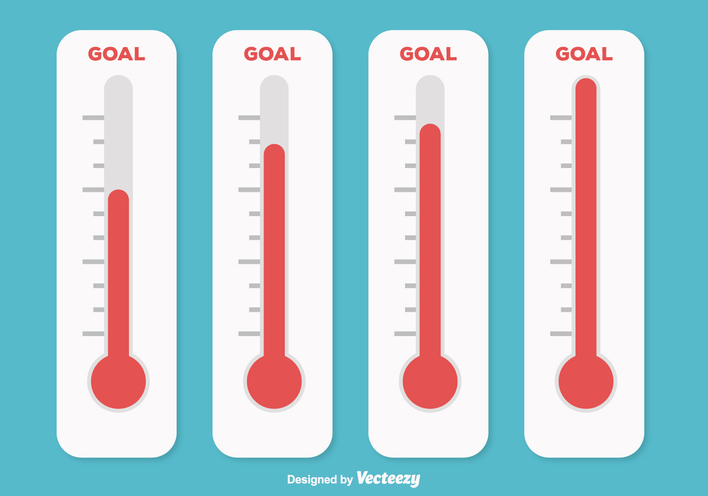 Goal Thermometer Illus...