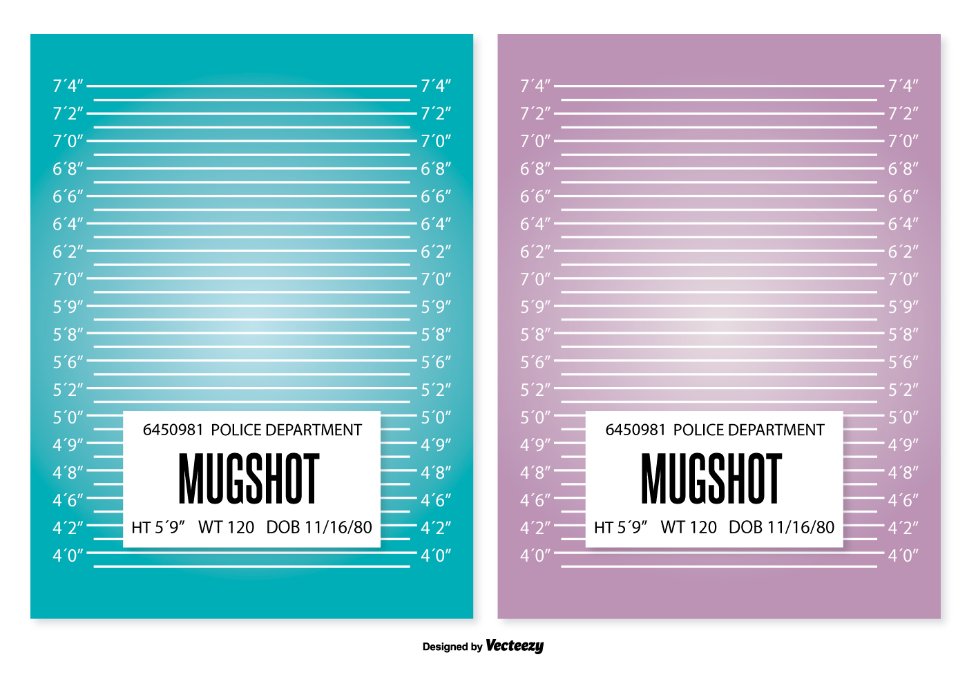 mugshot background template download free vector art