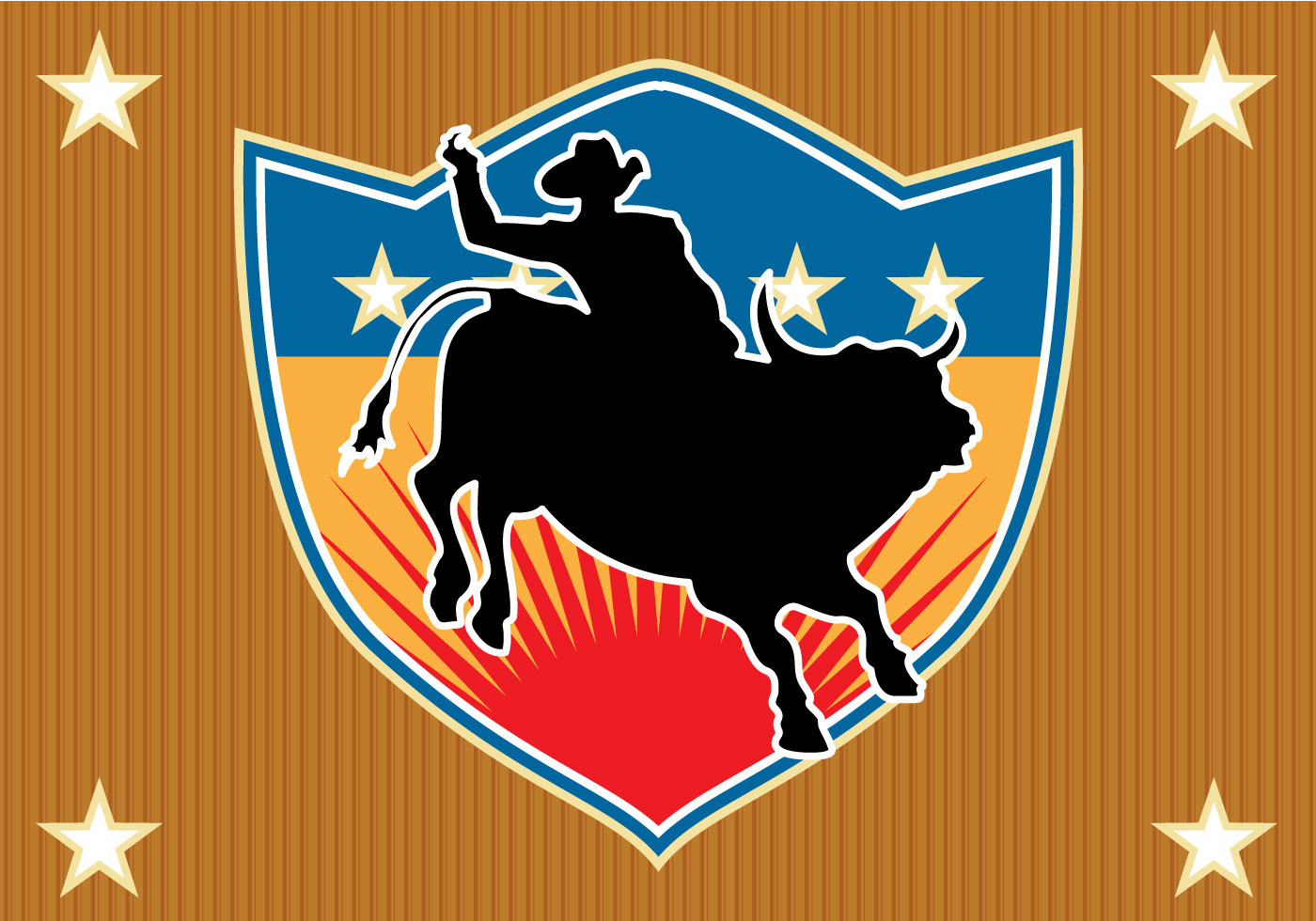 Free Bull Rider Vector - Download Free Vector Art, Stock ...