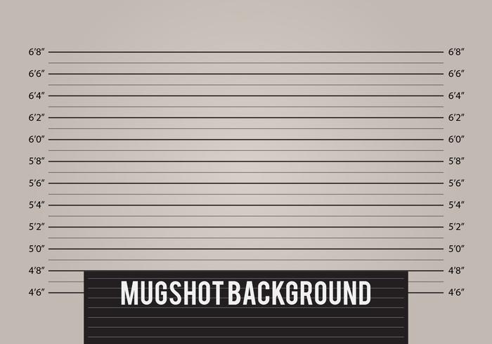 Mugshot Background Vector