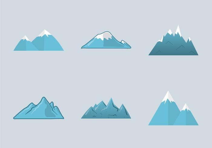 Illustration vectorielle Everest gratuite