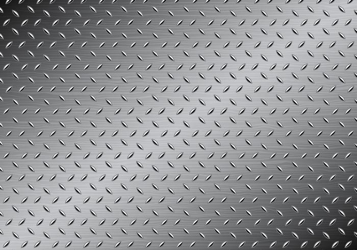Vecteur de texture métallique gratuit