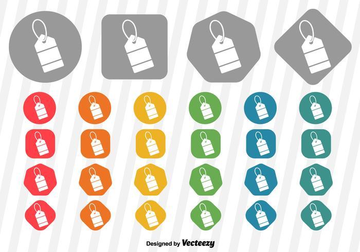 Vector Price Tag Icon