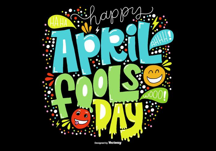 Hand Drawn April Fools Day Vector