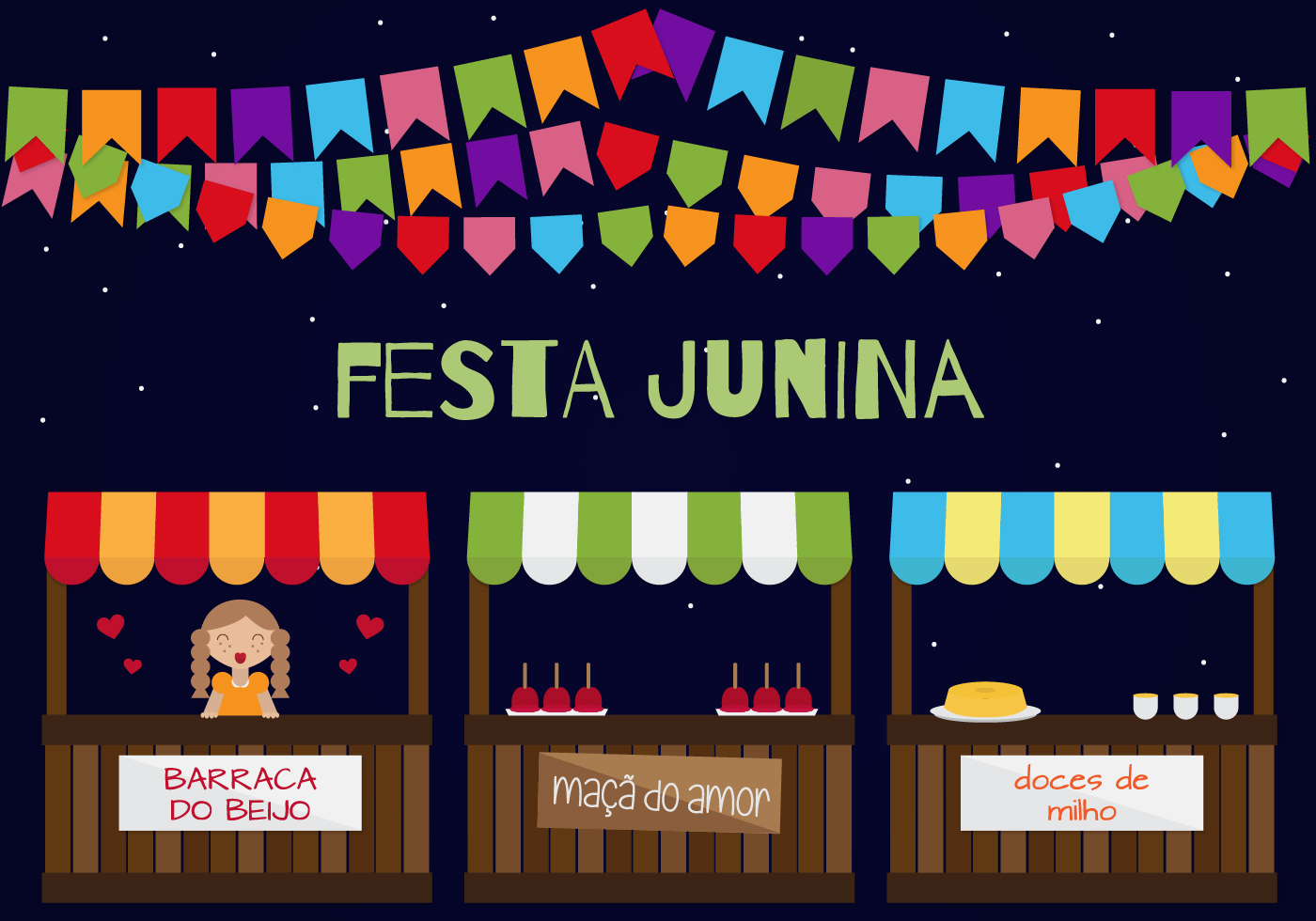 Calendar Design Concept : Festa junina vector download free art stock