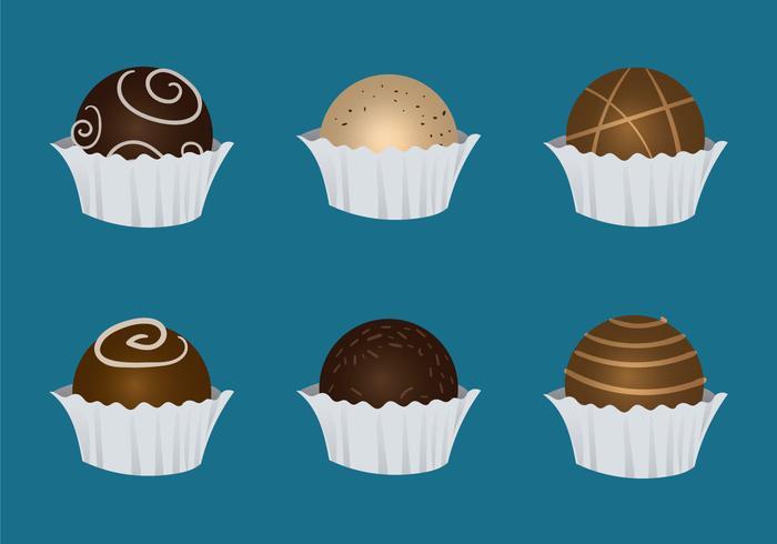 Free Truffles Vector Illustration